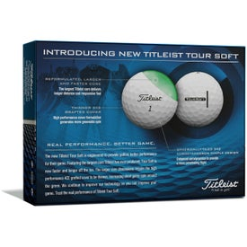 Titleist Tour Soft Standard Serve Golf Balls