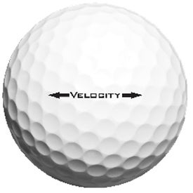 Titleist Velocity Factory Direct Golf Ball for Advertising