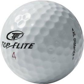 Printed Top Flite XL Distance Golf Ball