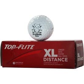 Top Flite XL Distance Golf Ball for Your Church