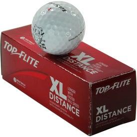 Custom Top Flite XL Distance Golf Ball