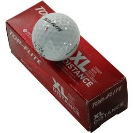 Customized Top Flite XL Distance Golf Ball
