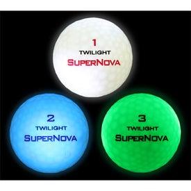 Promotional Twilight Tracer SuperNova Glowing Golf Ball