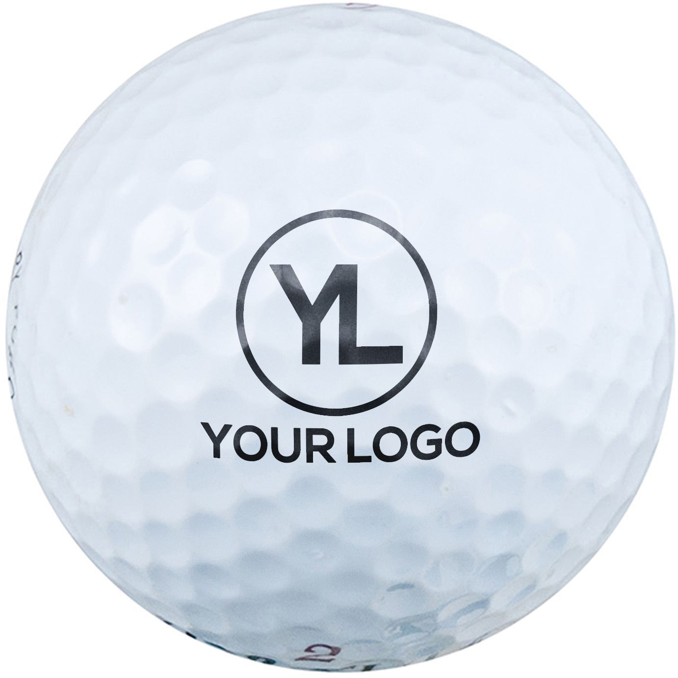 Promotional Value Golf Balls with Custom Logo for $1.19 Ea.
