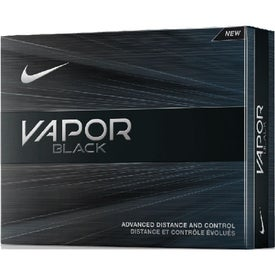 Vapor Black Golf Balls