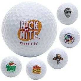 Dozen White Golf Balls