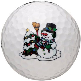 Customized White Golf Ball