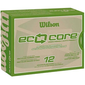 Eco-Friendly Wilson Eco Core Golf Ball
