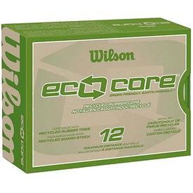Personalized Wilson Eco Core Golf Ball