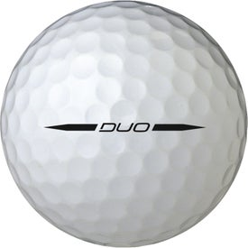 Printed Wilson Staff Duo Golf Ball