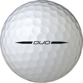 Printed Wilson Staff Duo Golf Ball