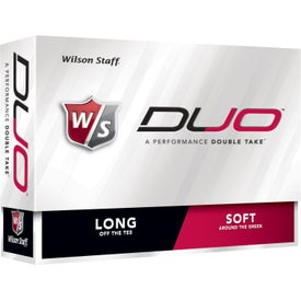 Advertising Wilson Staff Duo Golf Ball