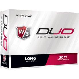 Advertising Wilson Staff Duo Golf Ball