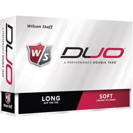 Imprinted Wilson Staff Duo Golf Balls