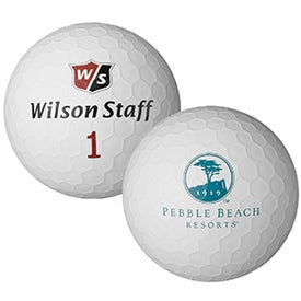 Wilson Staff Jumbo Golf Ball for Your Organization