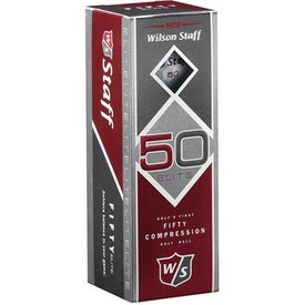 "Wilson ""Staff 50"" Golf Balls for Your Church"