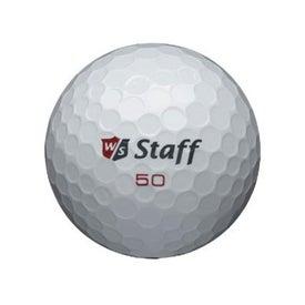 "Advertising Wilson ""Staff 50"" Golf Balls"