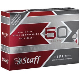"Wilson ""Staff 50"" Golf Balls for Your Organization"
