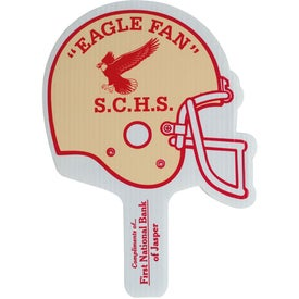 Football Helmet Hand Fans