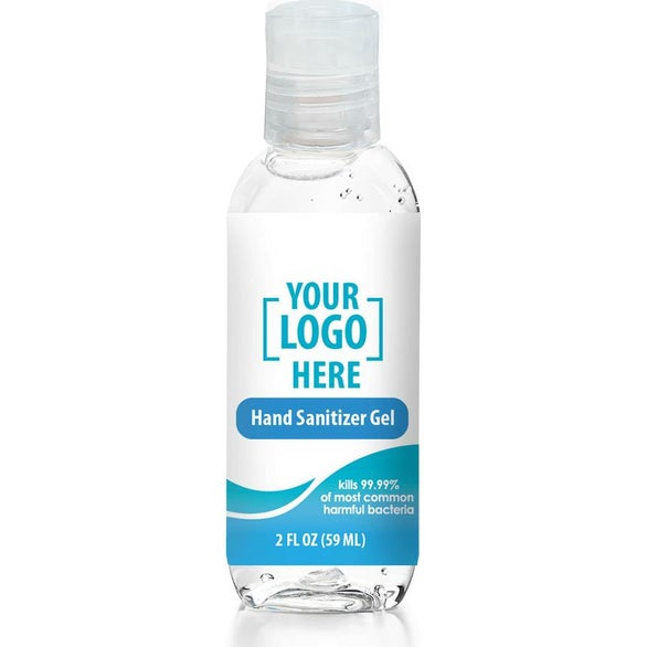 Clear Full Color Hand Sanitizer