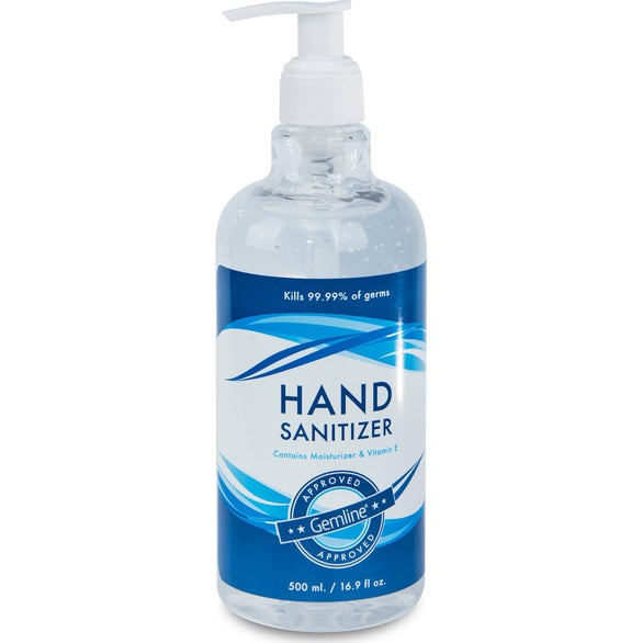 Clear Hand Sanitizer with Pump