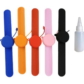 Silicone Wristband Hand Sanitizer Dispensers (0.3 Oz.)