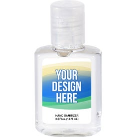 Square Hand Sanitizer Gel (0.5 Oz.)