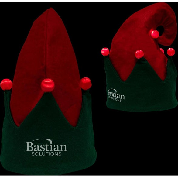 Red / Green Light-Up Elf Hat