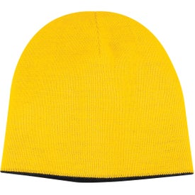 2-Tone Knit Cap Branded with Your Logo