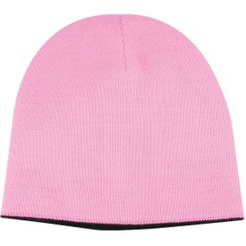 2-Tone Knit Cap for Advertising