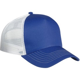 5 Panel Mesh Back Cap Imprinted with Your Logo