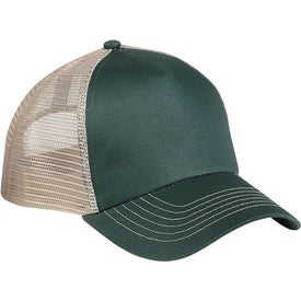 5 Panel Mesh Back Cap with Your Slogan