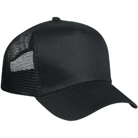 Customized 5 Panel Mesh Back Cap