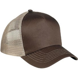 5 Panel Mesh Back Cap Printed with Your Logo