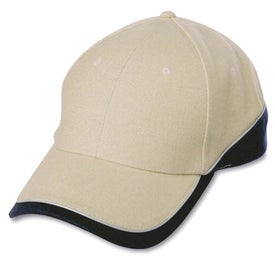Logo 6-Panel Combed Cotton Cap