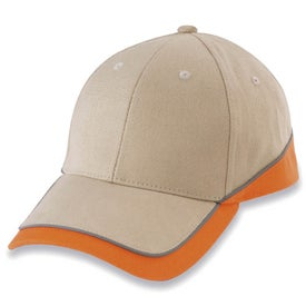 6-Panel Combed Cotton Cap with Your Logo
