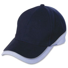 6-Panel Combed Cotton Cap Branded with Your Logo