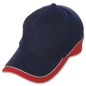 Branded 6-Panel Combed Cotton Cap