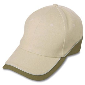 6-Panel Combed Cotton Cap