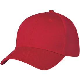 6 Panel Polyester Cap Imprinted with Your Logo