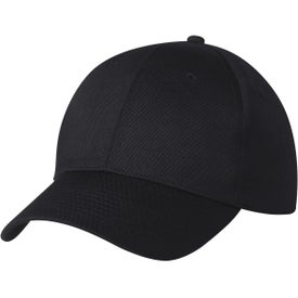 6 Panel Polyester Cap for Promotion