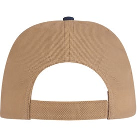 Branded Budget Saver Non-Woven Two-Tone Cap