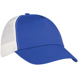 Budget Saver Non-Woven Two-Tone Cap with Your Logo