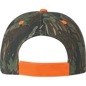 Custom Two-Tone Camouflage Cap