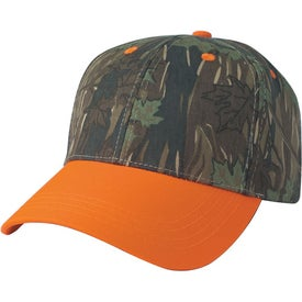 Two-Tone Camouflage Cap for Customization