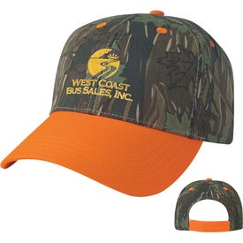 Two-Tone Camouflage Cap Giveaways