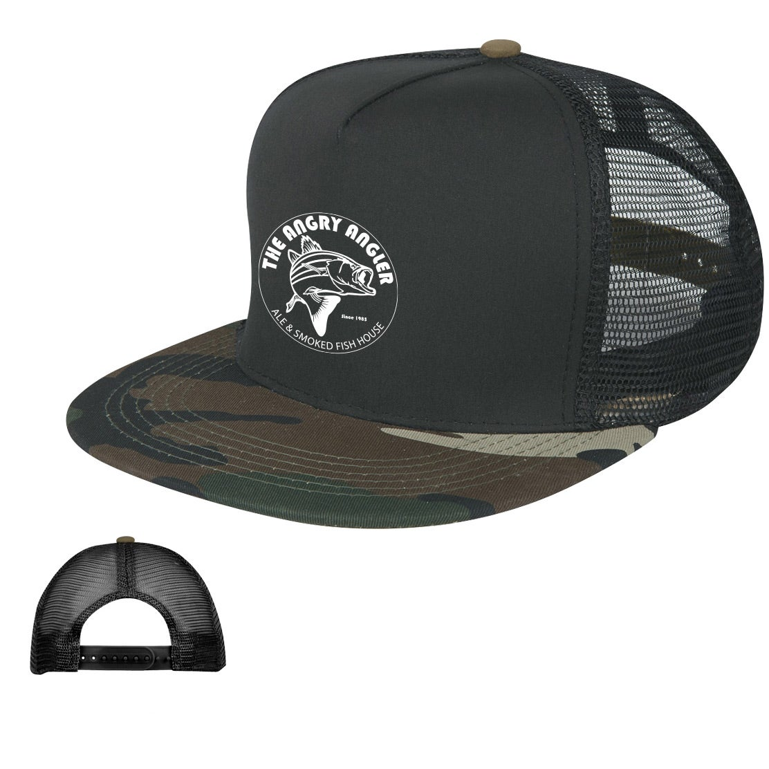 Promotional Camo Flatbill Caps with Custom Logo for  4.79 Ea. 9203e32988d