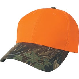 Imprinted Two-Tone Camouflage Hat