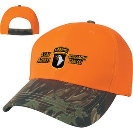 Custom Two-Tone Camouflage Hat