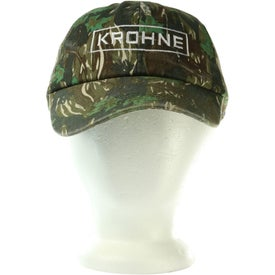 Monogrammed Camouflage Caps